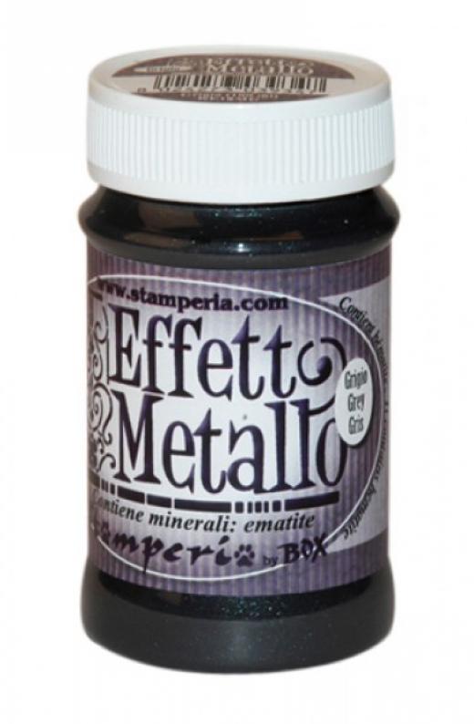 Εικόνα για Stamperia Metal Effect 100 ml Grey