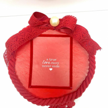 Εικόνα 2 για Romantic Red Gift Box Capitone Bear