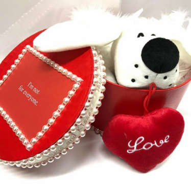 Εικόνα 2 για Romantic Red Gift Box - Puppy Love