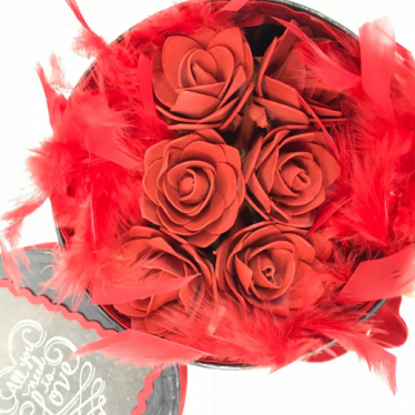 Εικόνα 4 για Romantic Black Gift box - Roses