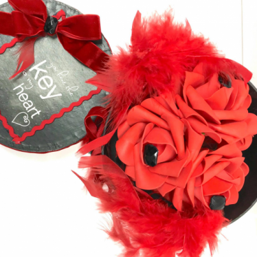 Εικόνα 2 για Romantic Black gift Box - Roses & Gems