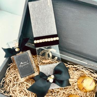 Εικόνα 3 για Luxury Edition Λαμπάδα Black CHANEL Lover