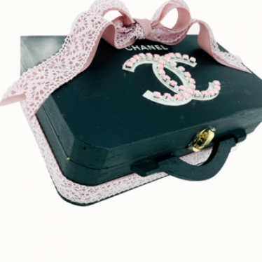 Εικόνα 3 για Luxury Edition  Λαμπάδα Pink Black CHANEL