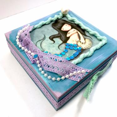 Εικόνα 3 για Luxury Edition Λαμπάδα Gorjuss Mermaid