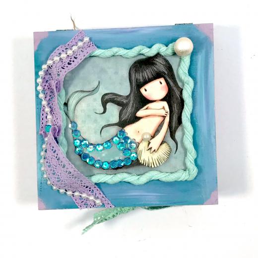 Εικόνα για Luxury Edition Λαμπάδα Gorjuss Mermaid