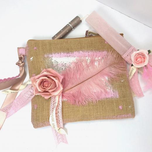 Εικόνα για Luxury Edition Λαμπάδα Rose & Feather