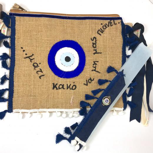Εικόνα για Luxury Edition Λαμπάδα Μάτι Μπλε
