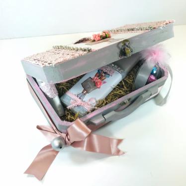 Εικόνα 2 για Luxury Edition Λαπμάδα CHANEL Pink -Grey