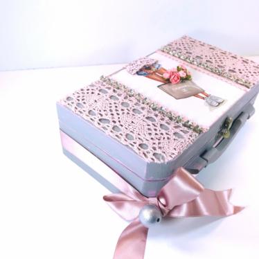Εικόνα 3 για Luxury Edition Λαπμάδα CHANEL Pink -Grey