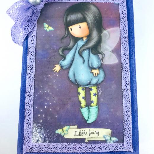 Εικόνα για Luxury Edition Λαμπάδα Gorjuss  Bubble Fairy