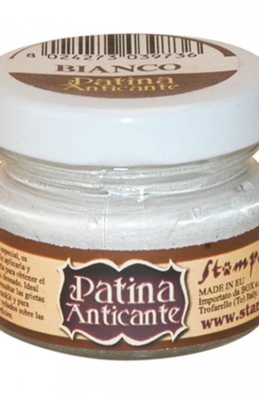 Εικόνα για Stamperia 20 ml Πατίνα Antic Bianco