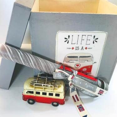 Εικόνα 2 για Σετ Λαμπάδα Volkswagen Van Lover