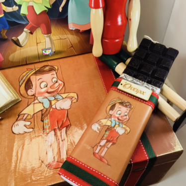 Εικόνα 3 για Σετ Λαμπάδας Ξύλινο κουτί Πινόκιο