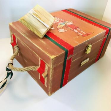 Εικόνα 4 για Σετ Λαμπάδας Ξύλινο κουτί Πινόκιο