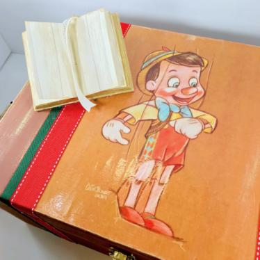 Εικόνα 5 για Σετ Λαμπάδας Ξύλινο κουτί Πινόκιο
