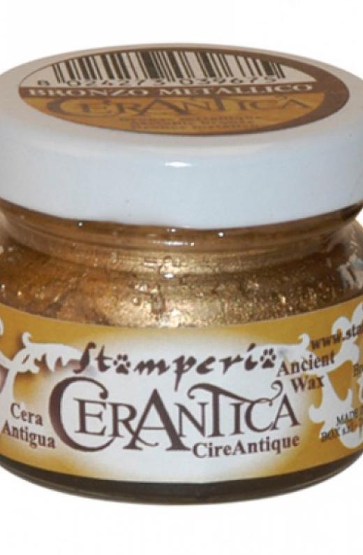 Εικόνα για Stamperia Κερί Παλαίωσης 20 ml Μπρονζέ Μεταλλικό