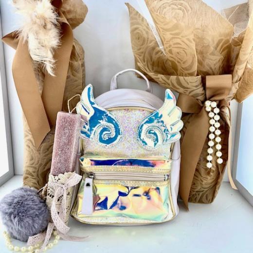 Εικόνα για Σετ Λαμπάδας Sparkling White Angel Bag