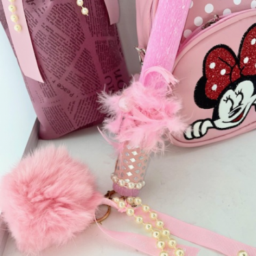 Εικόνα 2 για Σετ Λαμπάδας Minnie Pink Bag