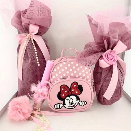 Εικόνα για Σετ Λαμπάδας Minnie Pink Bag