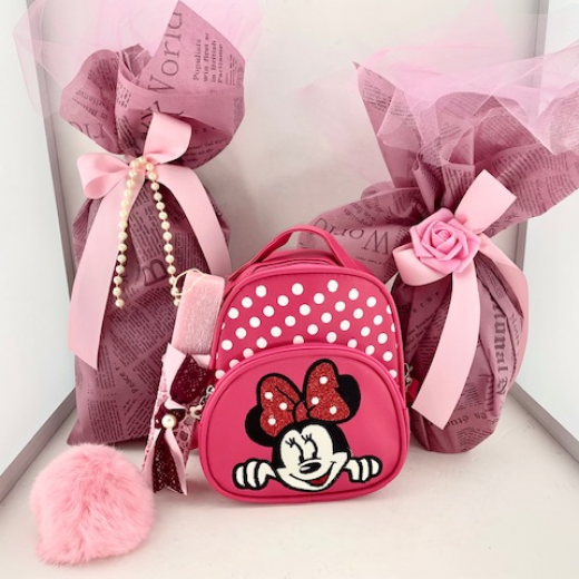 Εικόνα για Σετ Λαμπάδας Minnie Fuchsia Bag
