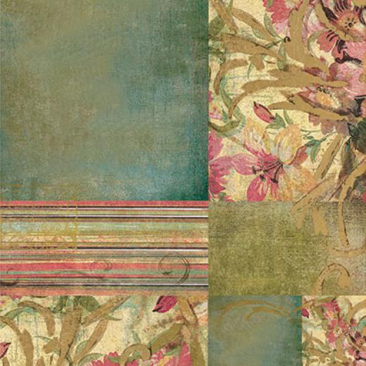 Εικόνα για Χαρτί decoupage ριζόχαρτο Α3 Vintage Floral 1