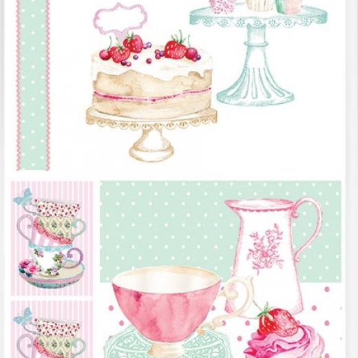 Εικόνα για Χαρτί για Decoupage Α3 Cupcakes