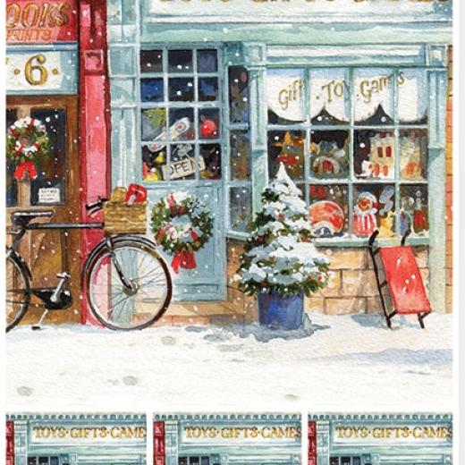 Εικόνα για Χαρτί για Decoupage A3 ριζόχαρτο Christmas