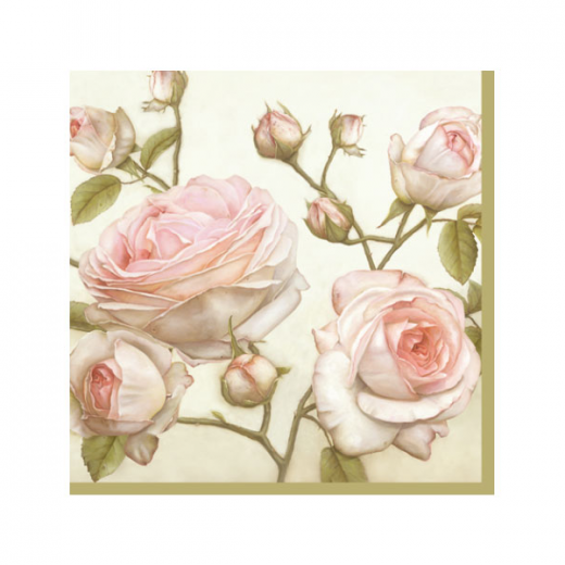 Εικόνα για Χαρτοπετσέτα Μοτίβο Τριαντάφυλλα