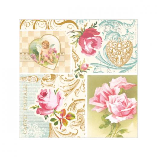 Εικόνα για Χαρτοπετσέτα Άγγελος με Τριαντάφυλλα