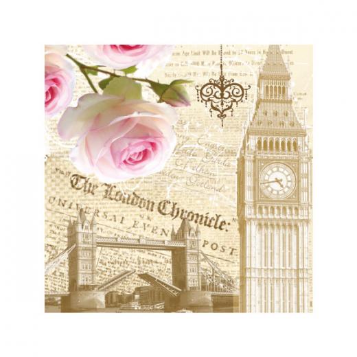Εικόνα για Χαρτοπετσέτα London Rose