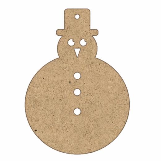 Εικόνα για Χιονάνθρωπος στρ. 8cm