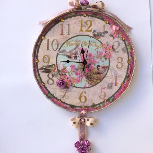 Εικόνα για Ρολόι τοιχου Flower Pathways