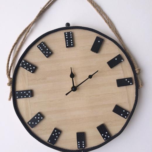 Εικόνα για Ρολόι Τοίχου Domino