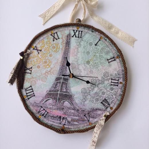 Εικόνα για Ρολόι τοίχου Paris