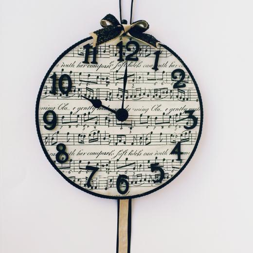 Εικόνα για Ρολόι τοίχου Music Lovers