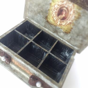 Εικόνα 3 για Ξύλινο κουτί Vintage