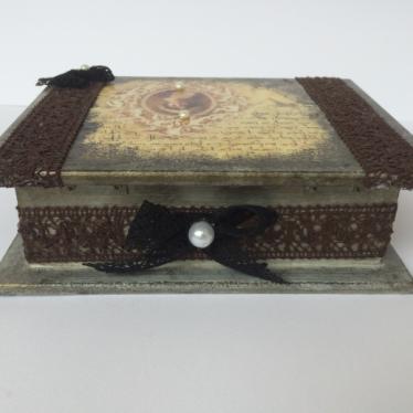Εικόνα 4 για Ξύλινο κουτί Vintage