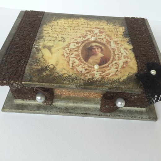 Εικόνα για Ξύλινο κουτί Vintage
