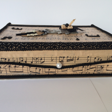 Εικόνα 2 για Χειροποίητο χάρτινο κουτί Νότες