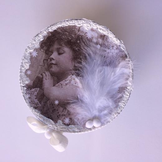 Εικόνα για Χειροποίητο Χάρτινο κουτί Snow Angel