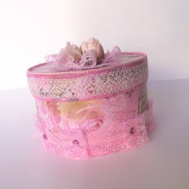Εικόνα 2 για Χειροποίητο κουτί Pink Roses