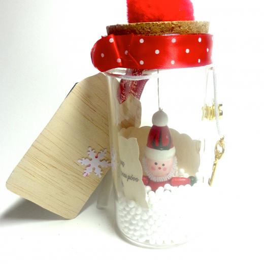 Εικόνα για Γούρι βάζάκι Άγιος Βασίλης  με ευχή