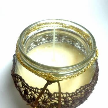 Εικόνα 3 για Γούρι βάζο γυάλινο κερί Αγάπη- Πίστη - Ελπίδα - Σοφία
