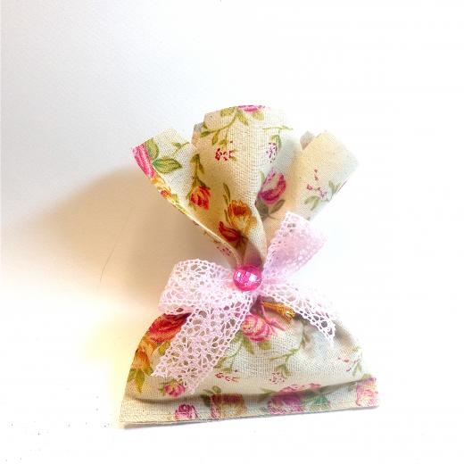 Εικόνα για Γούρι Πουγκί με άρωμα Λεβάντα, Floral Pattern