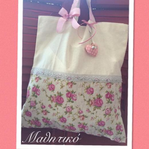 Εικόνα για Τσάντα Πάνινη Floral