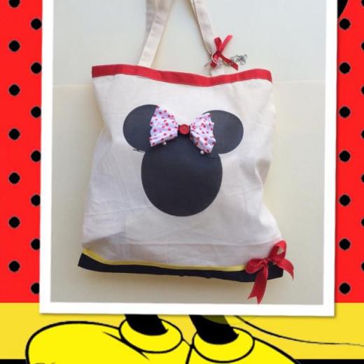 Εικόνα για Τσάντα με στάμπα πάνινη - Minnie