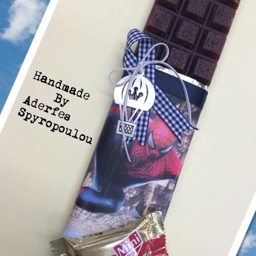 Εικόνα για Σοκολατολαμπάδα SPIDERMAN