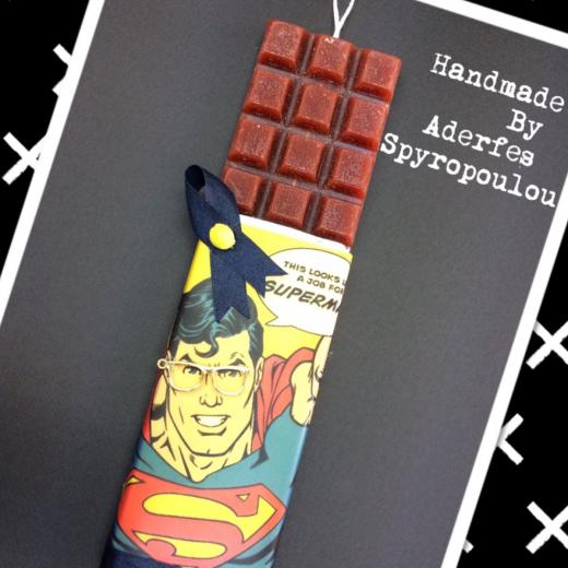 Εικόνα για Σοκολατολαμπάδα Superman