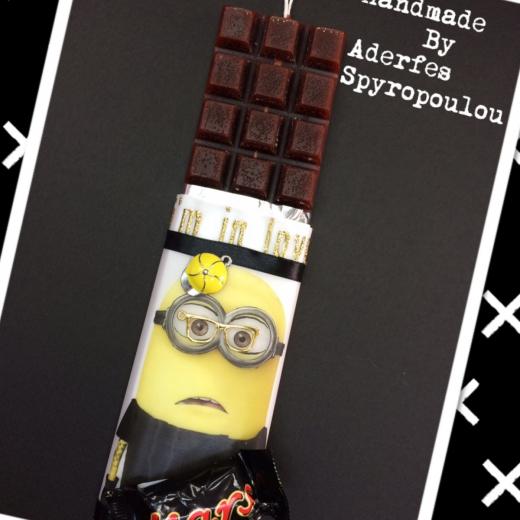 Εικόνα για Σοκολατολαμπάδα Minions 1