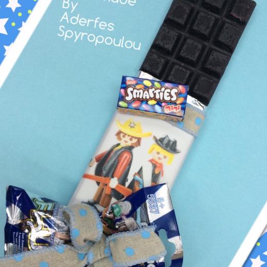 Εικόνα για Σοκολατολαμπάδα Playmobil Boy
